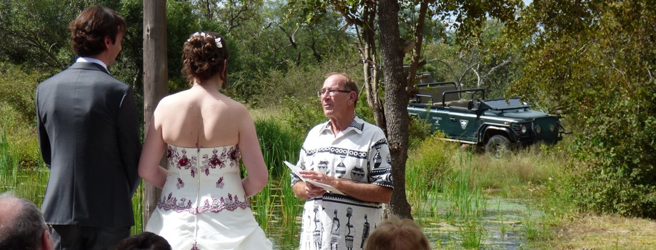 Wedding in the bush