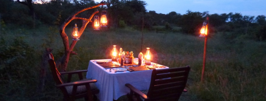 Romantic Candle light dinner